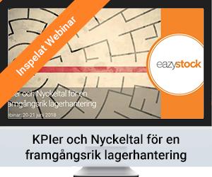 Inspelat Webinar - KPIer och Nyckeltal för en framgångsrik lagerhantering