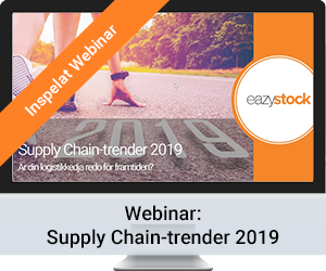 Inspelat Webinar - Supply Chain-trender 2019