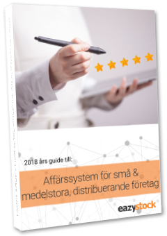 2018 års guide till affärssystem för små och medelstora, distribuerande företag