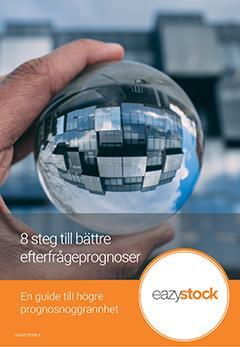 Gratis Guide: 8 steg till bättre efterfrågeprognoser